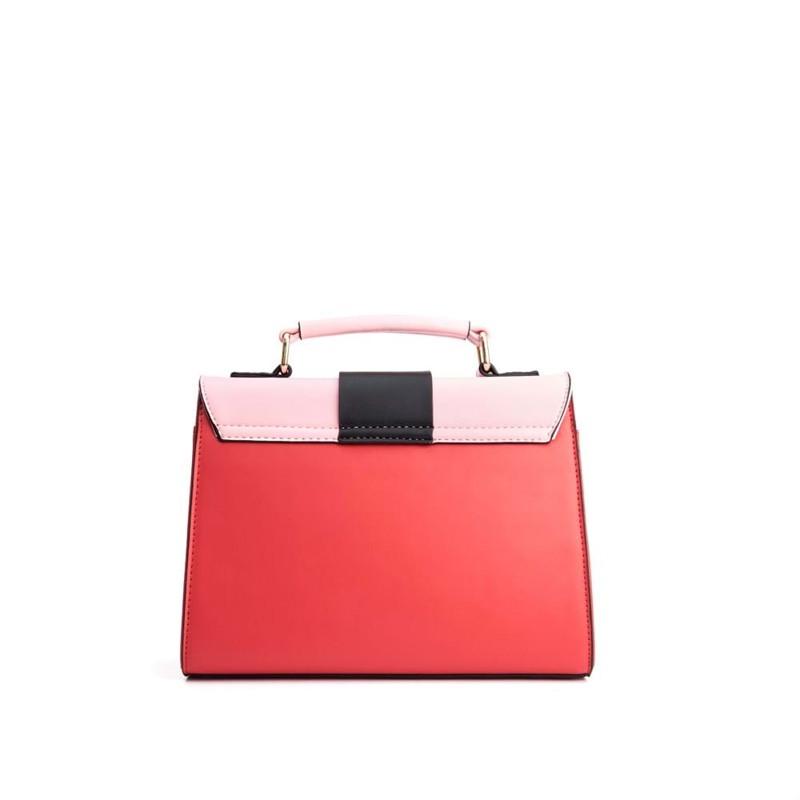 Håndtaske Rød/lyserød 2