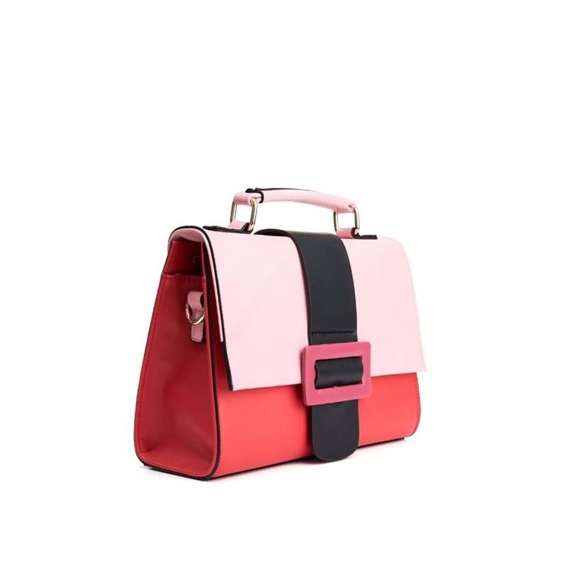 Håndtaske Rød/lyserød 3