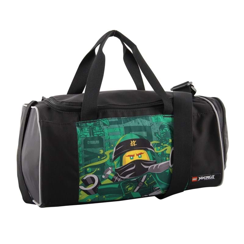 LEGO Sportstaske Ninjago Energy Sort/Grøn 1