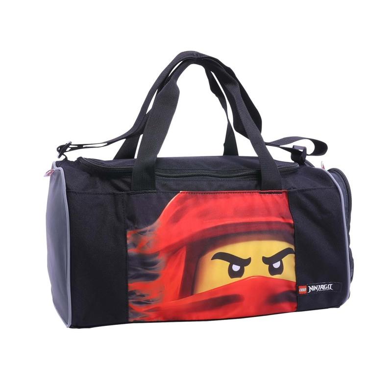LEGO Sportstaske Ninjago Kai Sort/Rød 1