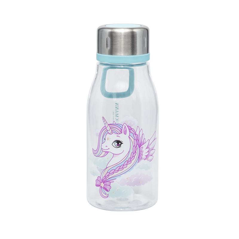 Beckmann Drikkeflaske Unicorn Pink mønstret 1