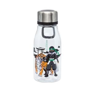 Beckmann Drikkeflaske Ninja Tiger Sort m/mønster 1