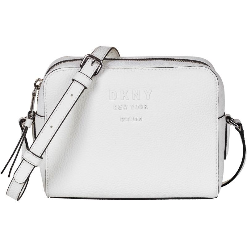 DKNY Crossbody Noho Camerabag Hvid/Navy 1