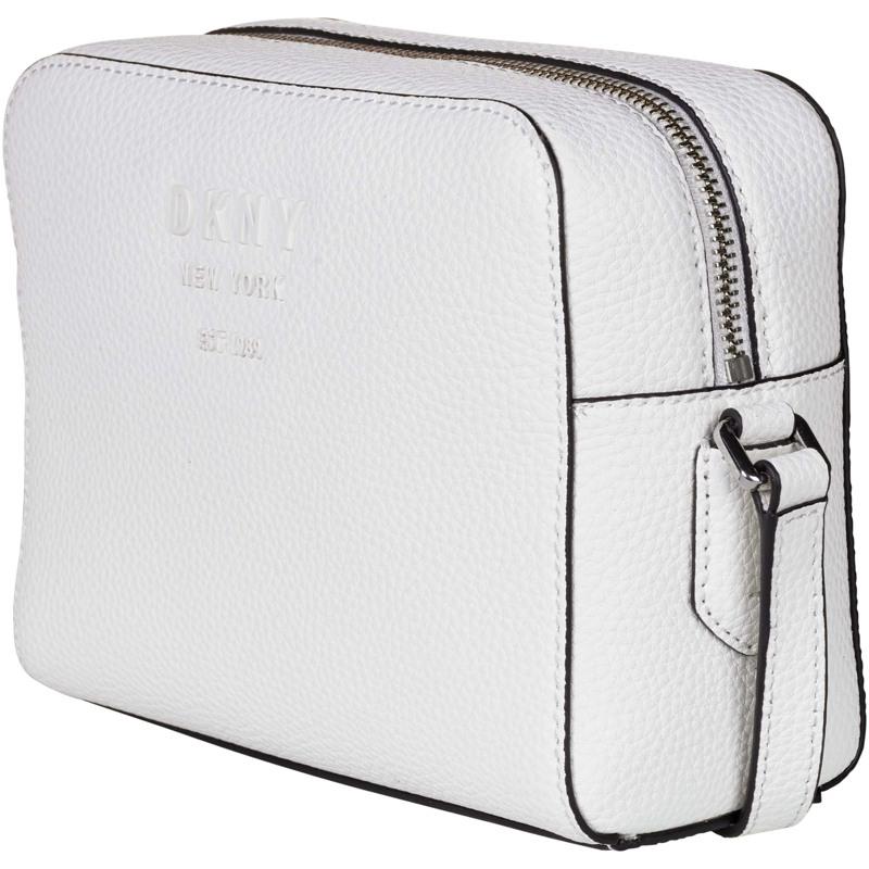 DKNY Crossbody Noho Camerabag Hvid/Navy 2