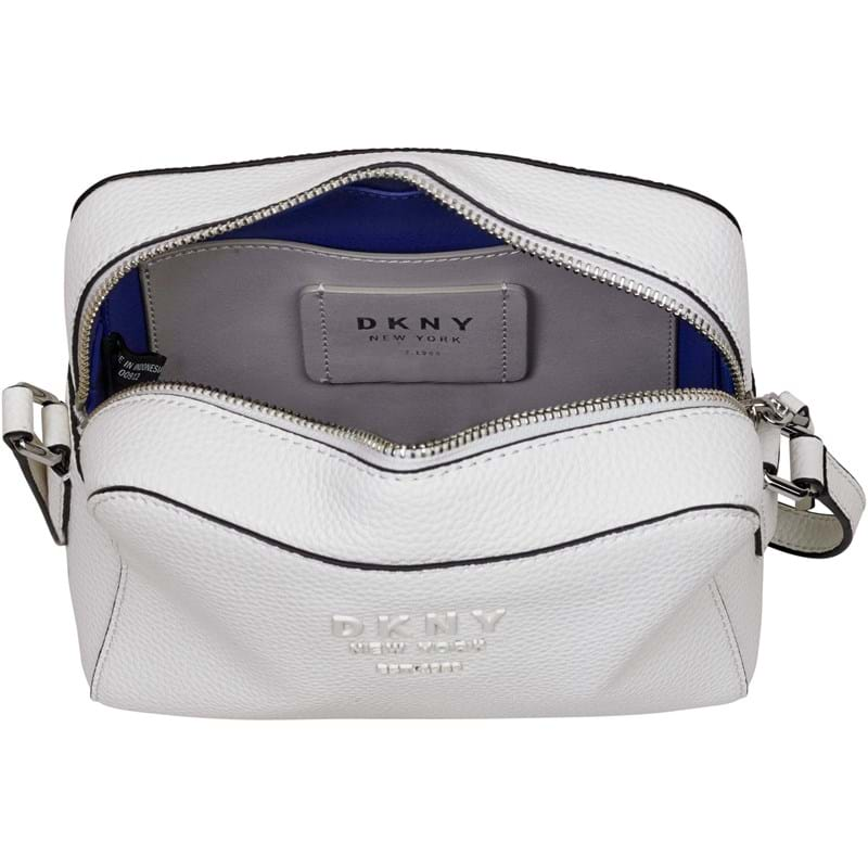 DKNY Crossbody Noho Camerabag Hvid/Navy 3