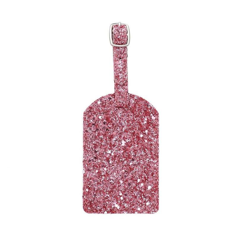 NEYE Travel Kuffertmærke glimmer Pink 1