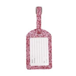 NEYE Travel Kuffertmærke glimmer Pink alt image