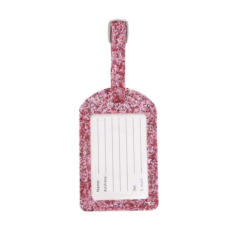 NEYE Travel Kuffertmærke glimmer Pink 2