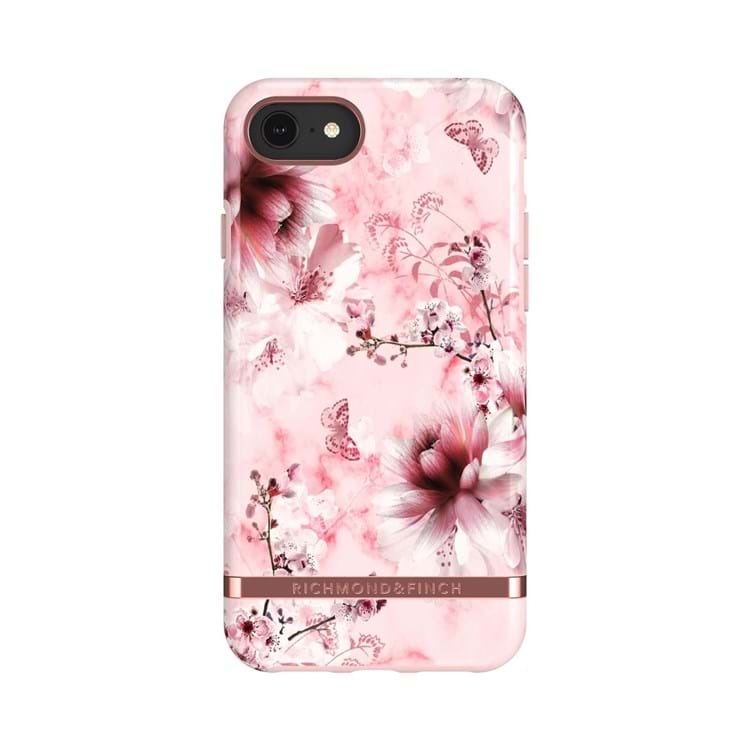 Richmond & Finch Mobilcover Pink Blomst 1