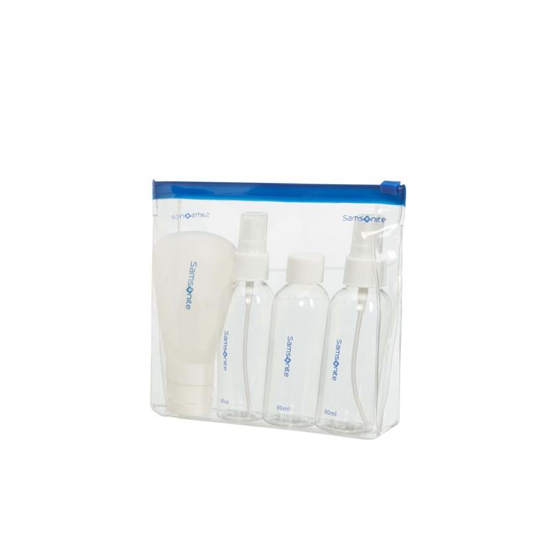 Samsonite Rejseflasker Transparent 1
