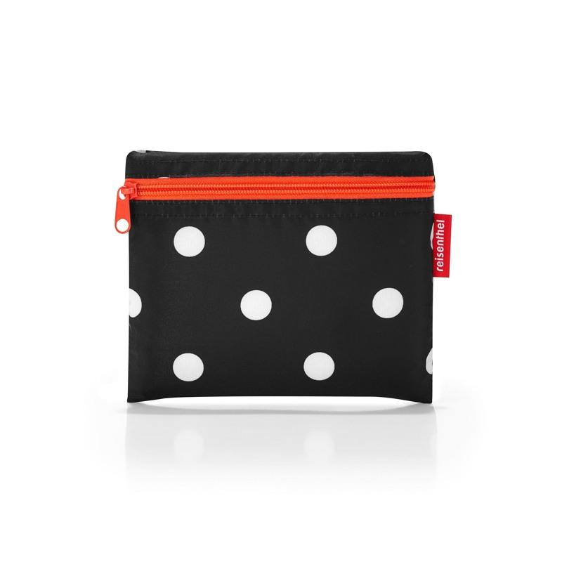 Reisenthel Shopper Mini Maxi Beachbag Sort M. Hvide prikker 2