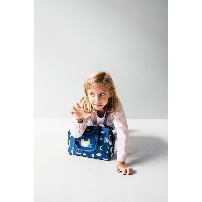 Reisenthel Rejsetaske Allrounder XS Kids Pink mønstret 4