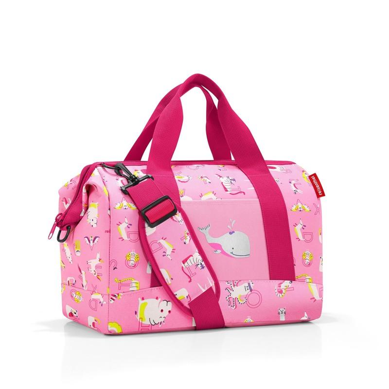 Reisenthel Rejsetaske Allrounder M Kids Pink mønstret 1