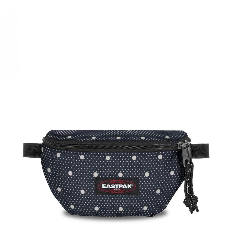 Eastpak Bæltetaske Springer Blå m/hvide prikker 1