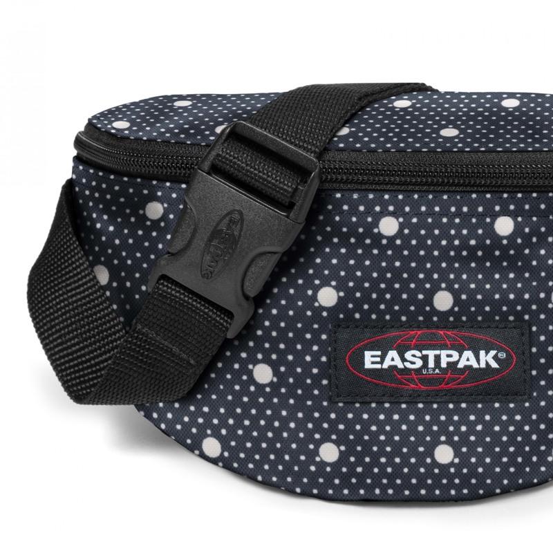 Eastpak Bæltetaske Springer Blå m/hvide prikker 5