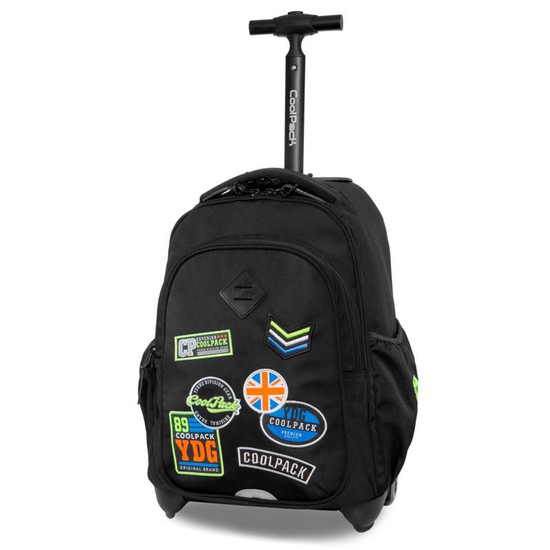 Coolpack Trolley Rygsæk Junior Sort 1