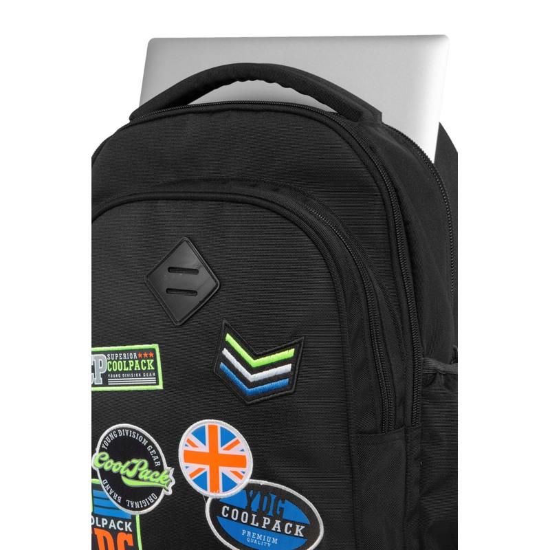 Coolpack Trolley Rygsæk Junior Sort 4
