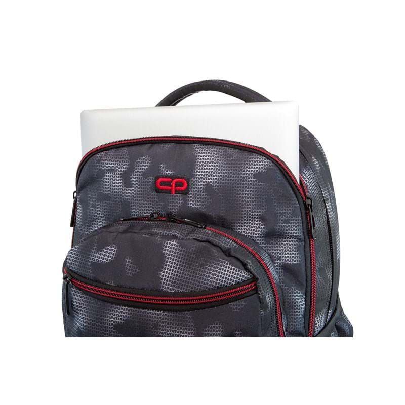 Coolpack Trolley Rygsæk Swift XL Grå/rød 4