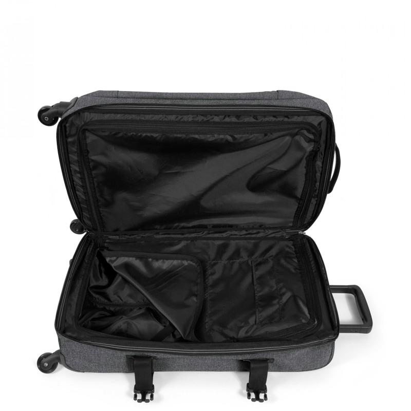 Eastpak Kuffert Trans4 Black denim 3