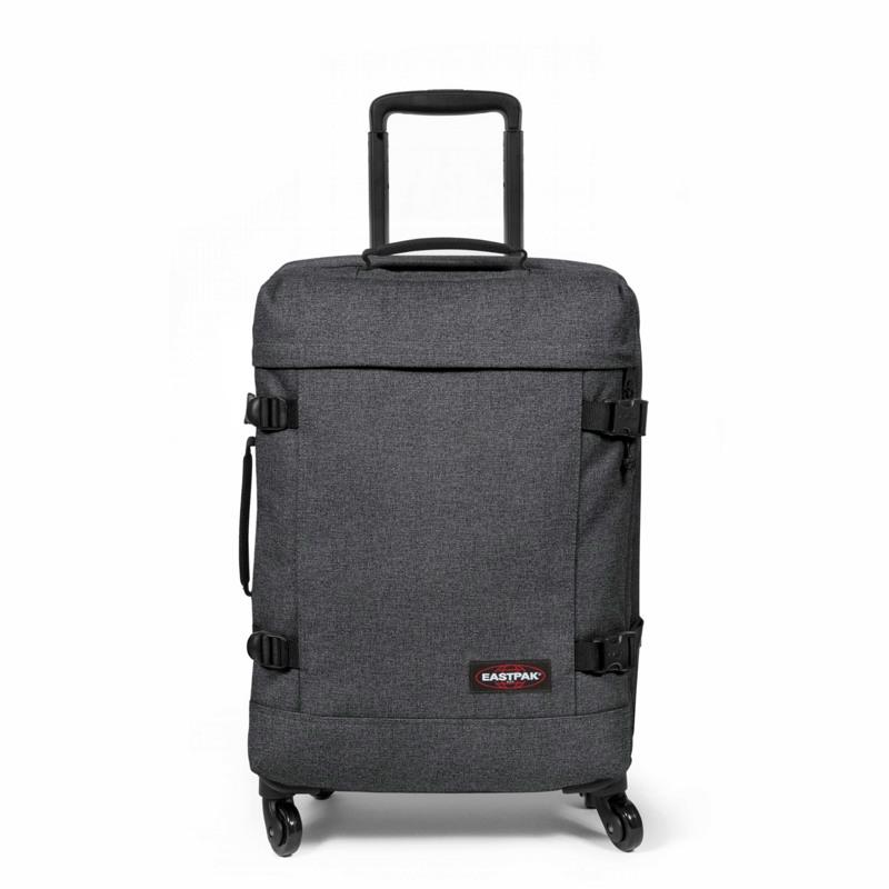 Eastpak Kuffert Trans4 Black denim 1