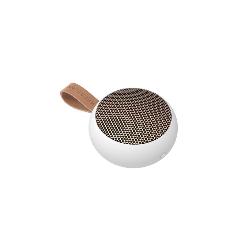 Kreafunk Højtaler Bluetooth aGO Hvid 1
