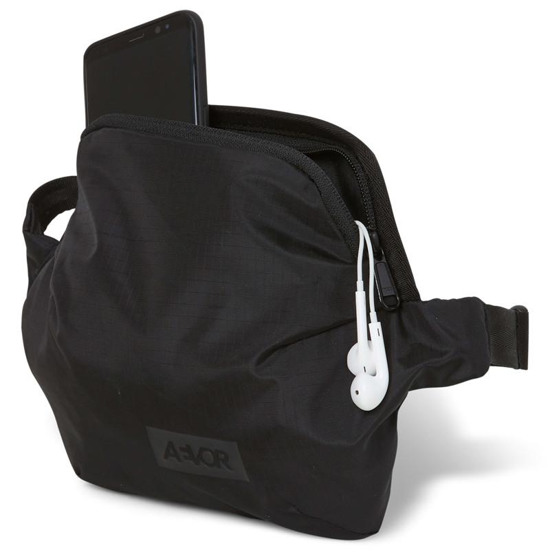Aevor Bæltetaske Hip Bag Plus Sort 3