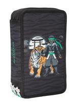 Beckmann Penalhus Ninja Tiger 3-lags Sort