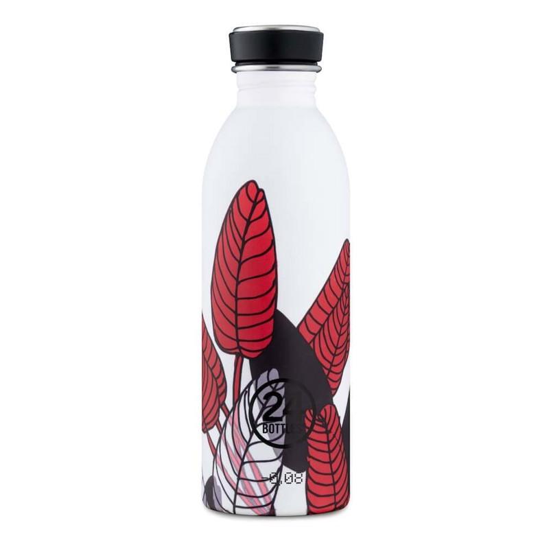 24Bottles Drikkeflaske Urban Bottle Rød/Hvid 1