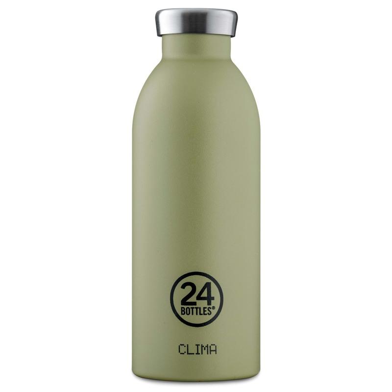 24Bottles Termoflaske Clima Bottle  Oliven 1