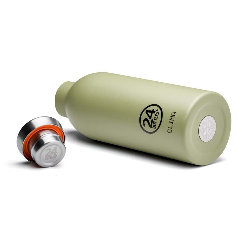 24Bottles Termoflaske Clima Bottle  Oliven 3