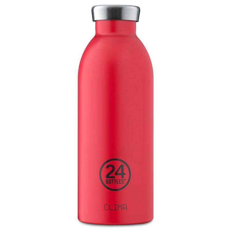 24Bottles Termoflaske Clima Bottle  Rød 1