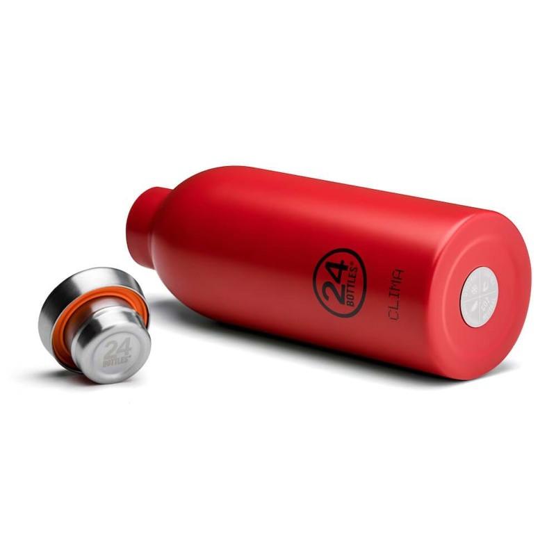 24Bottles Termoflaske Clima Bottle  Rød 2