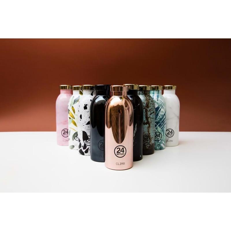 24Bottles Termoflaske Clima Bottle  Hvid/sort 2