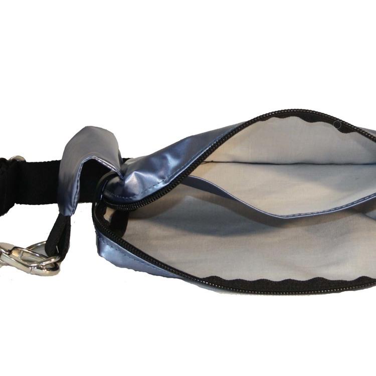 Bæltetaske Bloom M. blå 4