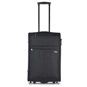 Aries Travel Kuffert Valencia 65 Cm Sort