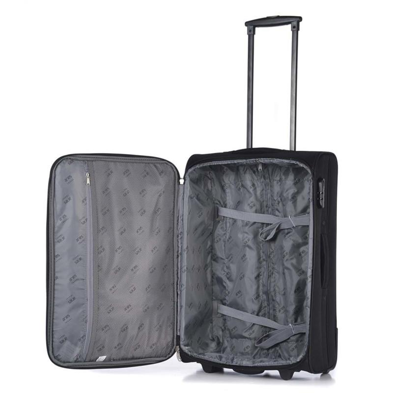 Aries Travel Kuffert Valencia Sort 4