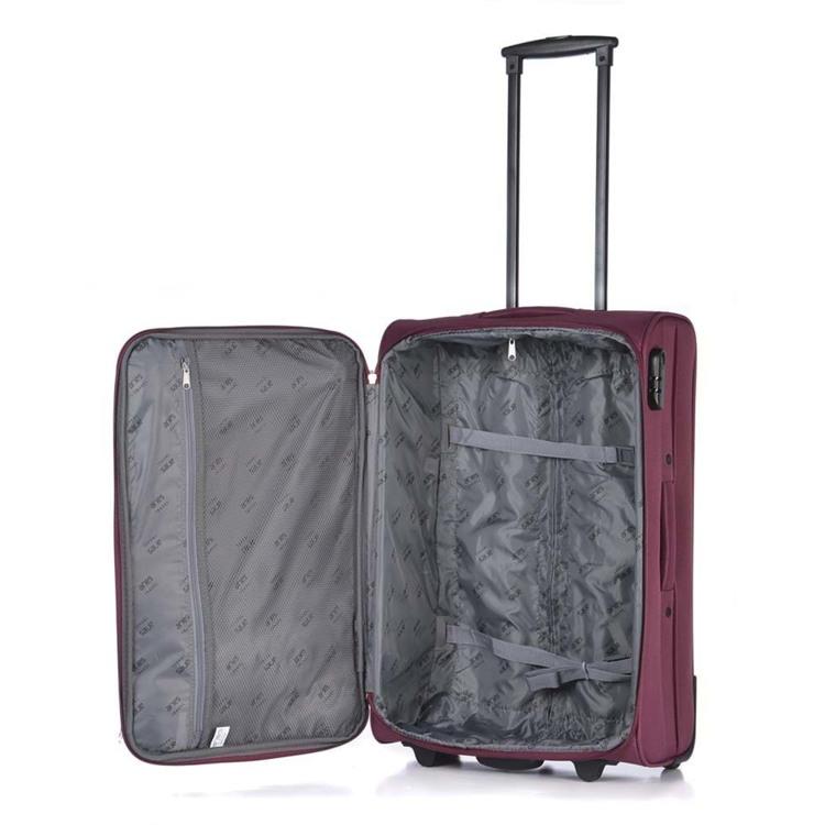 Aries Travel Kuffert Valencia Lilla/pink 4