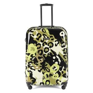 Aries Travel Kuffert Barcelona Grøn mønster 1