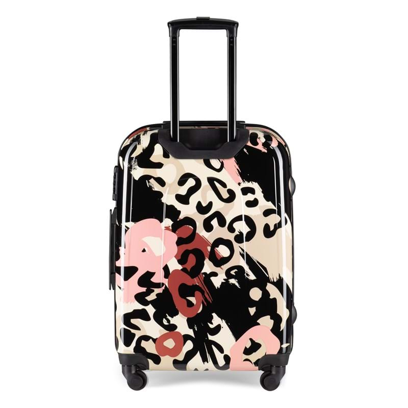 Aries Travel Kuffert Barcelona Pink mønstret 4