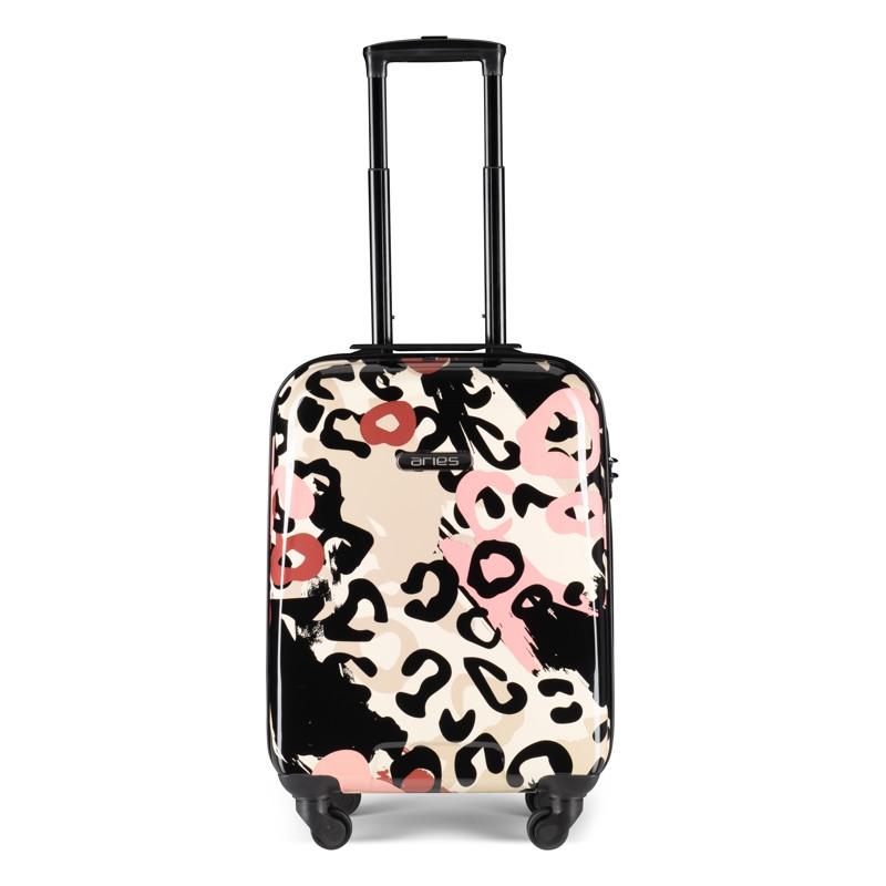 Aries Travel Kuffert Barcelona Pink mønstret 1