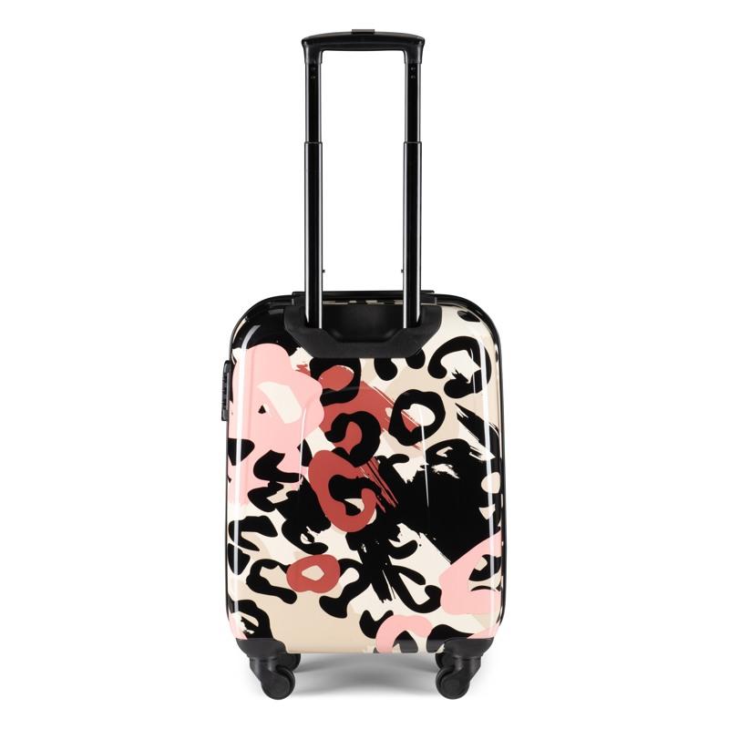 Aries Travel Kuffert Barcelona Pink mønstret 2