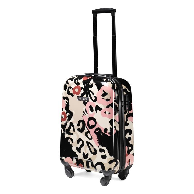 Aries Travel Kuffert Barcelona Pink mønstret 4