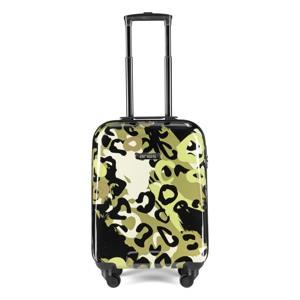 Aries Travel Kuffert Barcelona 55 Cm Grøn mønster