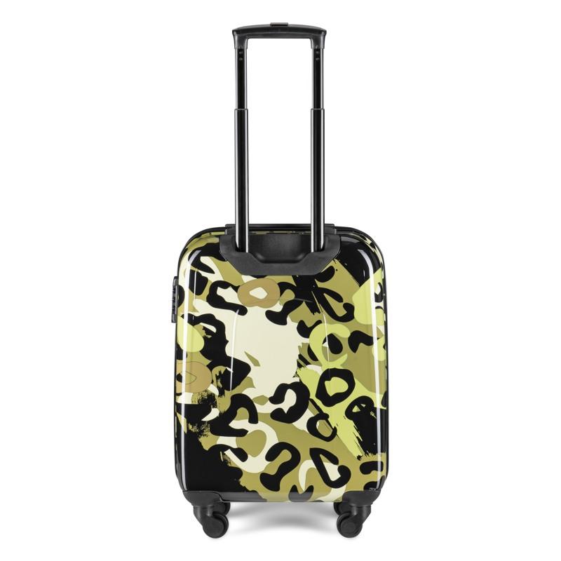 Aries Travel Kuffert Barcelona Grøn mønster 3