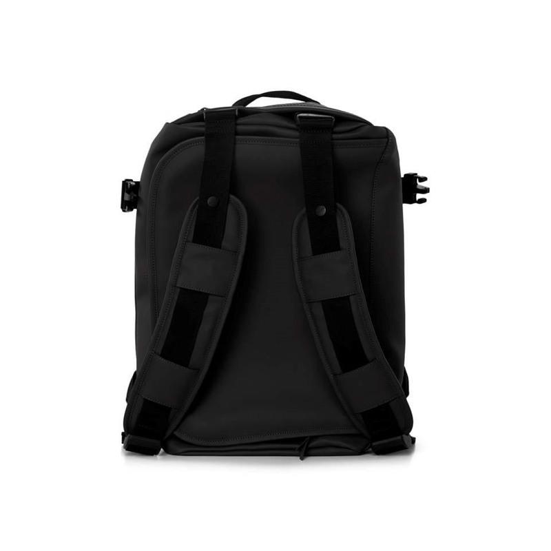 Rains Rejsetaske Duffel Backpack Sort 2