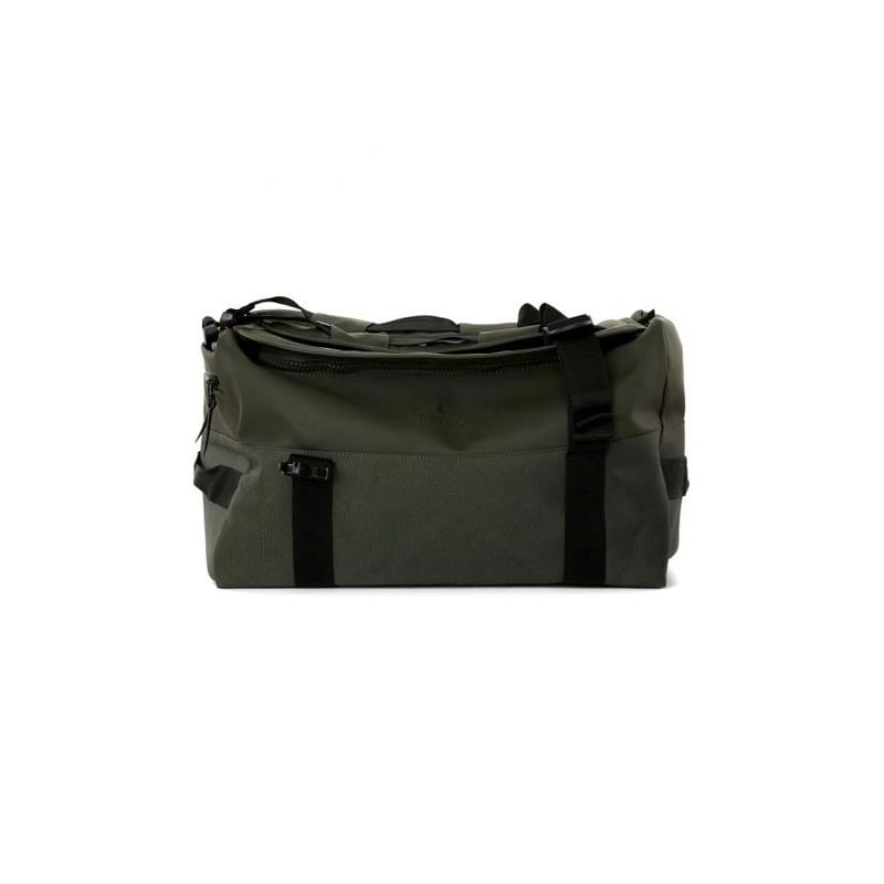 Rains Rejsetaske Duffel Backpack Army Grøn 1