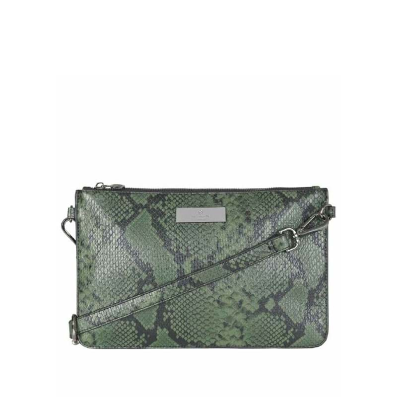 Rosemunde Clutch Sort/Grøn 1
