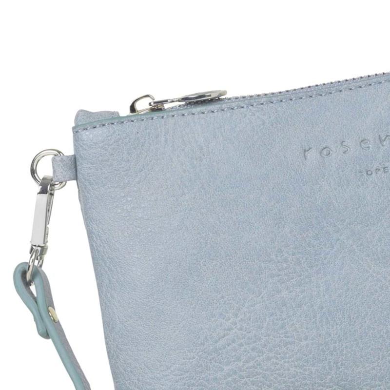 Rosemunde Clutch Blå/lyseblå 2