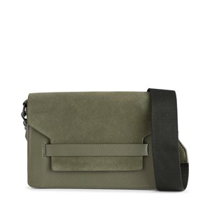 Markberg Crossbody Arabella Suede Mix  Grøn