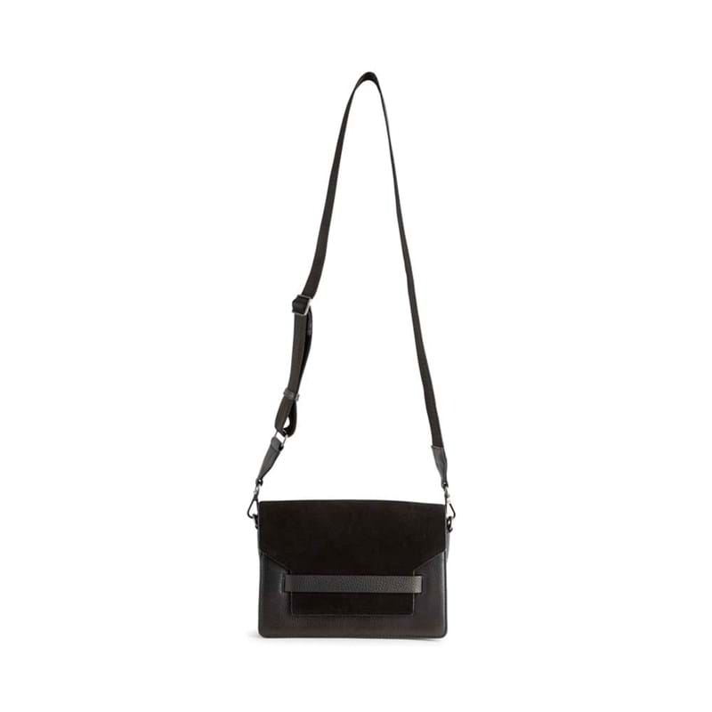 Markberg Crossbody Arabella Suede Mix Sort/Sort 7